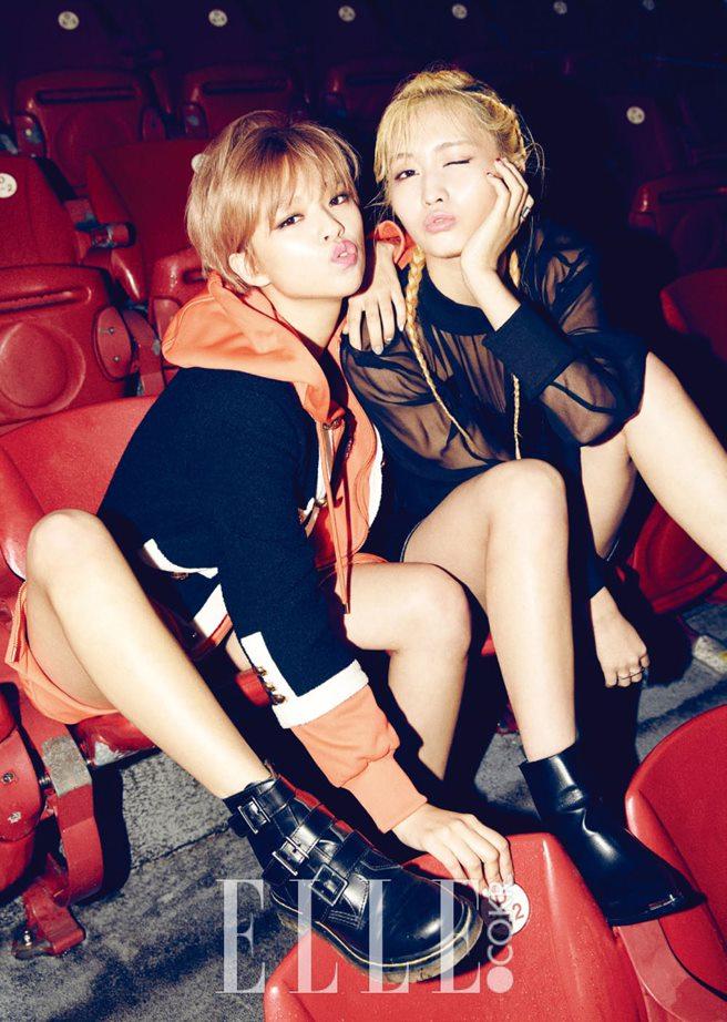 TWICE_ファッション雑誌「ELLE」2015年11月号グラビア2